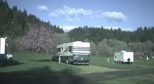 RVs in spring